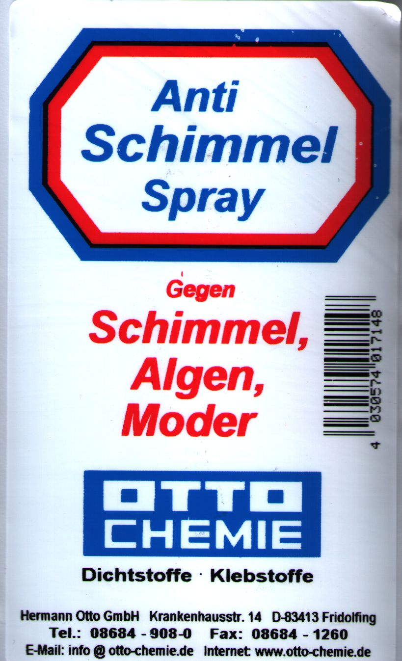 gvshop otto schimmel ex anti schimmel spray 0 5ltr. Black Bedroom Furniture Sets. Home Design Ideas
